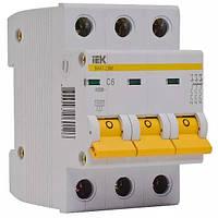 Автоматический выключатель ВА47-29М 3P 50A 4,5кА х-ка B ИЭК