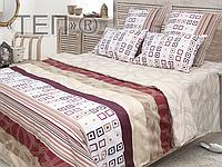 Полуторный комплект постельного белья Прайм