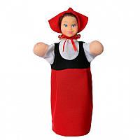"""Кукла-рукавичка """"Красная Шапочка"""", пластизоль, ткань"""