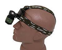 Светодиодный Фонарик BAILONG BL 6808 30000W, zoom, налобный фонарь, аккумуляторный фонарь на голову