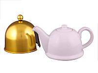 Заварочный чайник Lefard 800 мл с колпаком 470-130