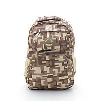 Камуфляжный интересный мужской повседневный рюкзак. Хорошее качество. Доступная цена. Дешево. Код: КГ1723