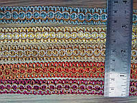 Тесьма плетеная 5 цветов