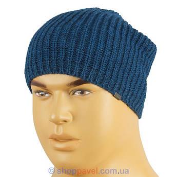 Удлиненная мужская шапка Loman в разных цветах