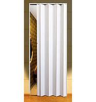 Двери-гармошка шторка белые