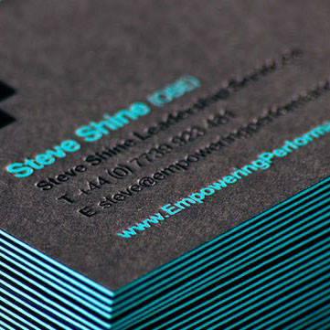 Визитки на дизайнерском картоне, фото 2