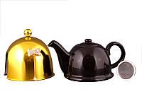 Заварочный чайник Lefard 800 мл с ситечком и колпаком 470-135