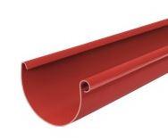Желоб водосточной системы Бриза (Bryza) 125 мм красный