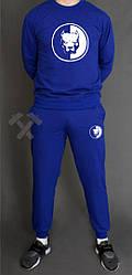 Мужской спортивный костюм Staff синий (люкс копия)