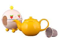 Заварочный чайник Lefard 750 мл с ситечком и колпаком 470-142