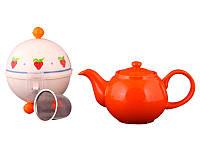 Заварочный чайник Lefard 750 мл с ситечком и колпаком 470-143