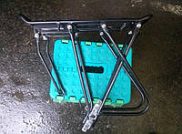 Багажник для велосипеда из алюминия под дисковые.