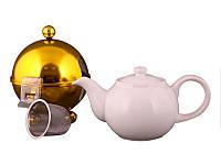 Заварочный чайник Lefard 750 мл с ситечком и колпаком 470-146