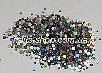 Камни микс цветов и размеров 100 шт