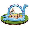 Детский надувной бассейн с фонтаном Динозавр INTEX, фото 4