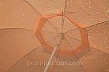 "Зонт круглый ""шапочка"" (3 м) для торговли, отдыха на природе (8 пласт. спиц) DJV /N-62, фото 2"