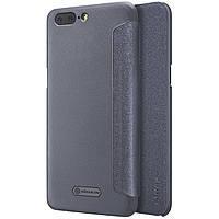 Чехол-книжка Nillkin Sparkle Black для OnePlus 5