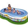 Детский надувной бассейн овальный райская лагуна 262х160х46 см INTEX 56490 Басейн овальный, фото 2