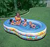 Детский надувной бассейн овальный райская лагуна 262х160х46 см INTEX 56490 Басейн овальный, фото 5