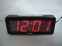 Часы электронные настольные VST 763T-1 (красное табло)!Опт