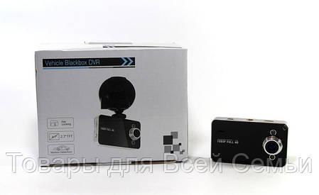 Автомобильный видеорегистратор DVR K6000 без HDMI, фото 2