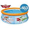 Надувной бассейн басейн Intex 28102. 183 х 145 х 51 см Семейный Easy Басейн круглый, фото 4