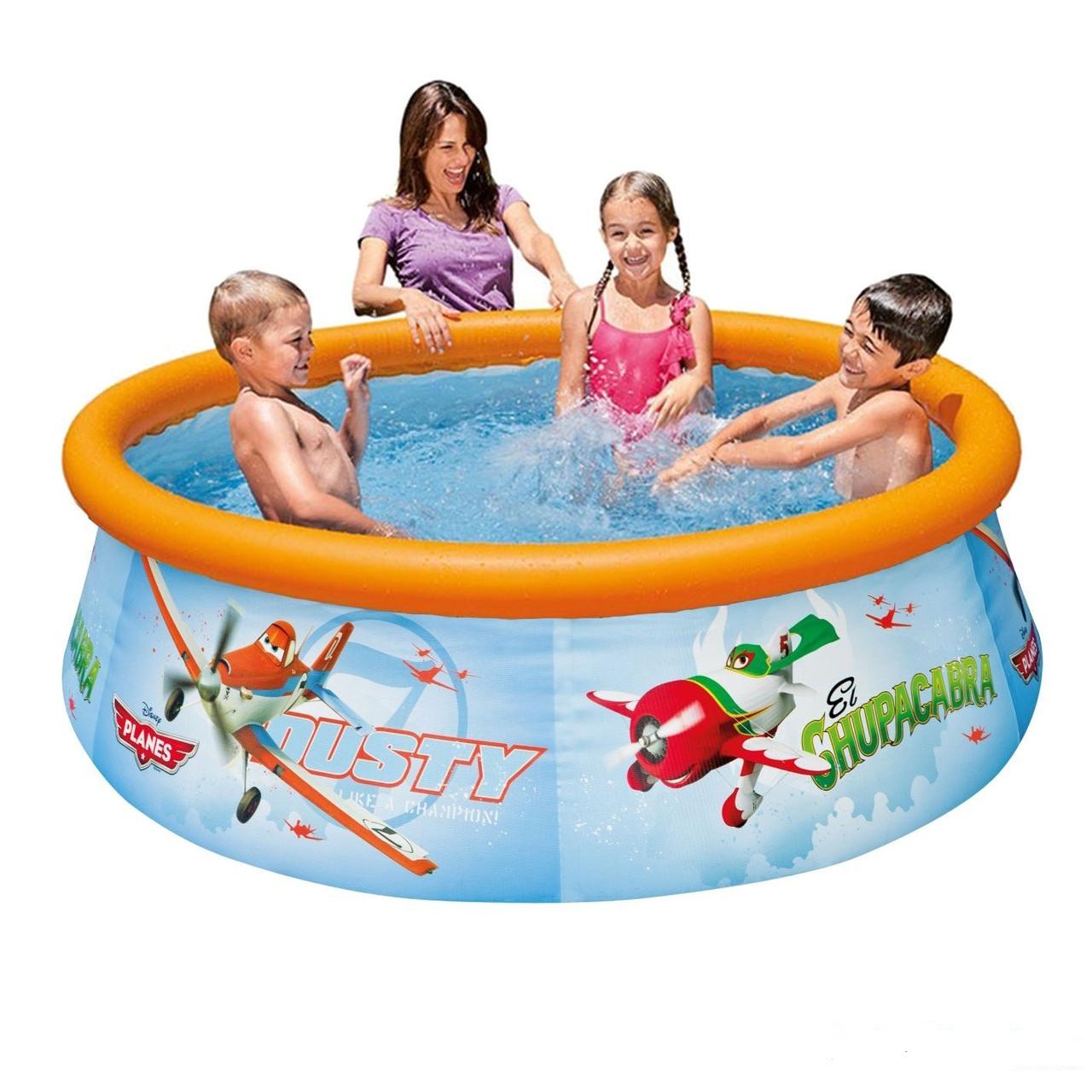 Надувной бассейн басейн Intex 28102. 183 х 145 х 51 см Семейный Easy Басейн круглый
