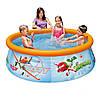 Надувной бассейн басейн Intex 28102. Семейный Easy Басейн
