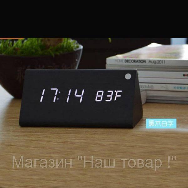 Стильные электронные часы VST 861-6 (дата/температура/управления голосом)!Акция