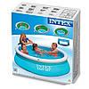 Надувной семейный бассейн Easy Set Intex  Басейн, фото 4