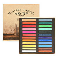 Пастель  Мелки для волос Masters pastel 24 цвета