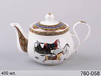 """Фарфоровый заварочный чайник Lefard """"Кронос"""" 400 мл 760-058"""