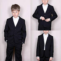 Школьный стильный костюм двойка на мальчика 5-10 лет