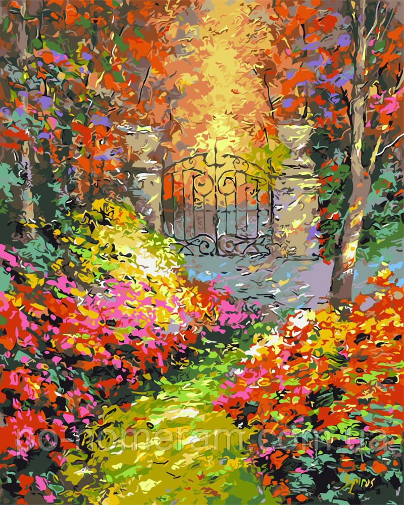 Раскраска по номерам Осенний сад (BRM9972) 40 х 50 см ...