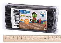 Восковый пластилин becks plastilin b100092 черный 250 гр для детского творчества