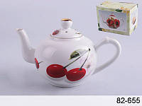 "Декоративный, сувенирный чайник Lefard ""Вишенки"" 250 мл 82-655"