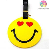 Бирка для багажа - влюбленный Smile