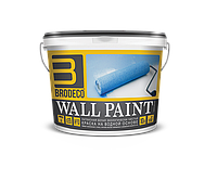 """Латексная краска Brodeco """"Wall Paint"""" 1 л."""
