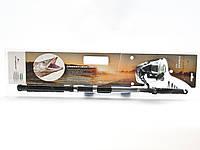 Спиннинг телескопический 270см 6 секций катушка