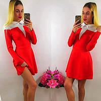 Стильное платье, два цвета