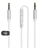 Аудио кабель с микрофоном и пультом Remax RL-S120, фото 4