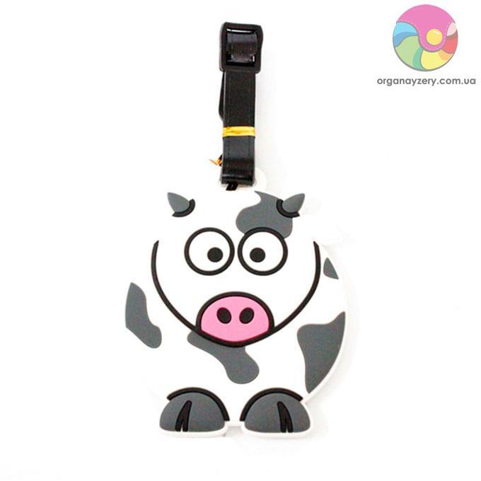 Бирка для багажу - Корова