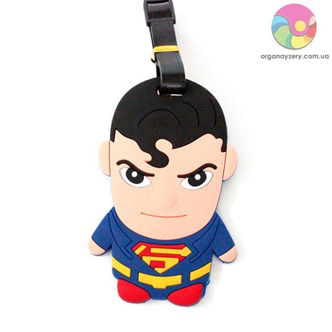 Бирка для багажу - Супермен