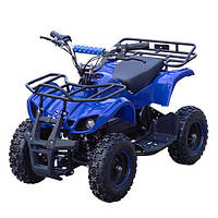 Квадроцикл HB-EATV 1000D-4 (1шт) мотор 1000W безщеточ,4 аккум 20A/12V,до 30км/ч,до 120кг,сине-черн