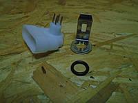 Разъем корпуса секции электробензонасоса ВАЗ белый