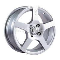 Литые диски Скад Омега R15 W6.5 PCD4x100 ET45 DIA67.1 (алмаз), фото 1