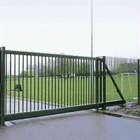 Ворота откатные из металла