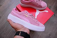 Кроссовки женские Puma Creepers Platform Core Pink