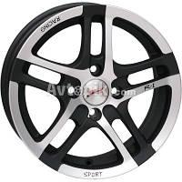 Литые диски RS Wheels 584J R16 W7 PCD5x100 ET43 DIA67.1 (DGM)