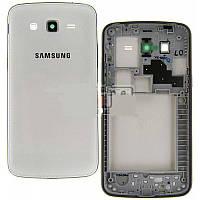 Корпус для Samsung G7102 Galaxy Grand 2 Duos (White) Качество